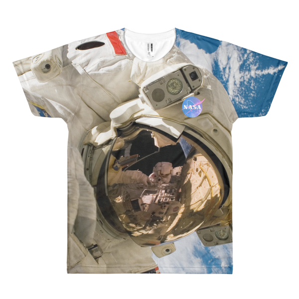 Skydiving T-shirts NASA - Astronaut - USA - Short sleeve men's t-shirt, T-shirt, eXtreme 120+™ Skydiving Apparel, eXtreme 120+™ Skydiving Apparel, Skydiving Apparel, Skydiving Gear, Olympics, T-Shirts, Skydive Chicago, Skydive City, Skydive Perris, Drop Zone Apparel, USPA, united states parachute association, Freefly, BASE, World Record,