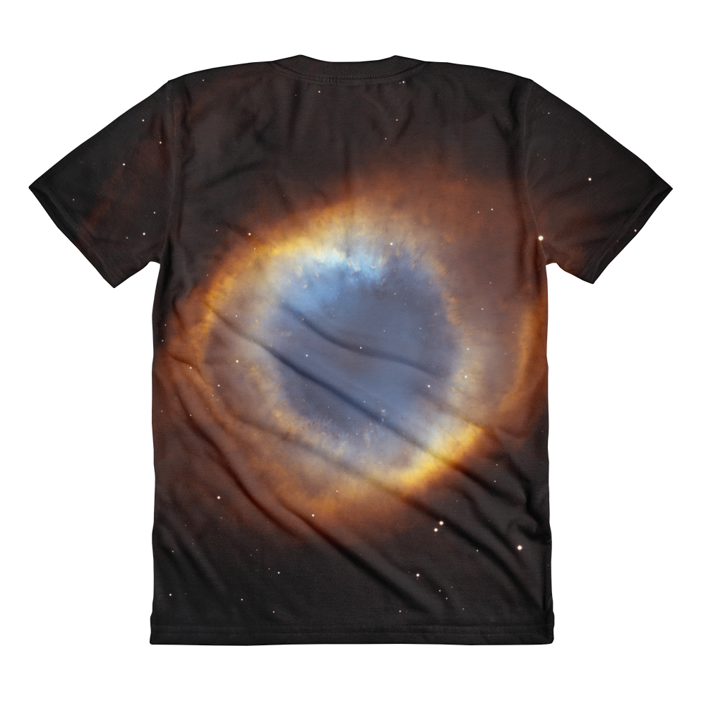 Skydiving T-shirts Galaxy - Glory of Helix Nebula - Women's sublimation t-shirt, T-shirt, Skydiving Apparel, Skydiving Apparel, Skydiving Apparel, Skydiving Gear, Olympics, T-Shirts, Skydive Chicago, Skydive City, Skydive Perris, Drop Zone Apparel, USPA, united states parachute association, Freefly, BASE, World Record,