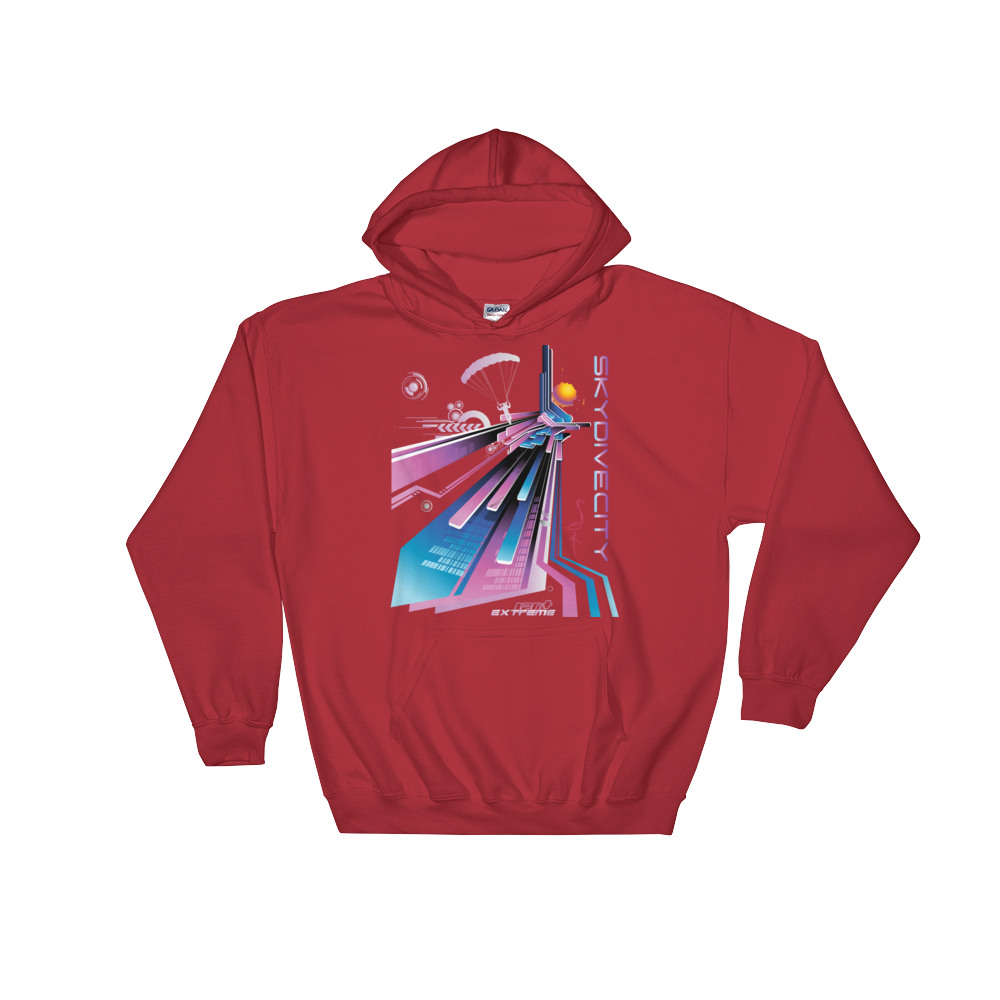 Skydiving T-shirts Skydiving Hoodie - Skydive City - Flamingo - Unisex Hooded Sweatshirt, Hoodies, eXtreme 120+䋢 Skydiving Apparel, eXtreme 120+䋢 Skydiving Apparel, Skydiving Apparel, Skydiving Gear, Olympics, T-Shirts, Skydive Chicago, Skydive City, Skydive Perris, Drop Zone Apparel, USPA, united states parachute association, Freefly, BASE, World Record,