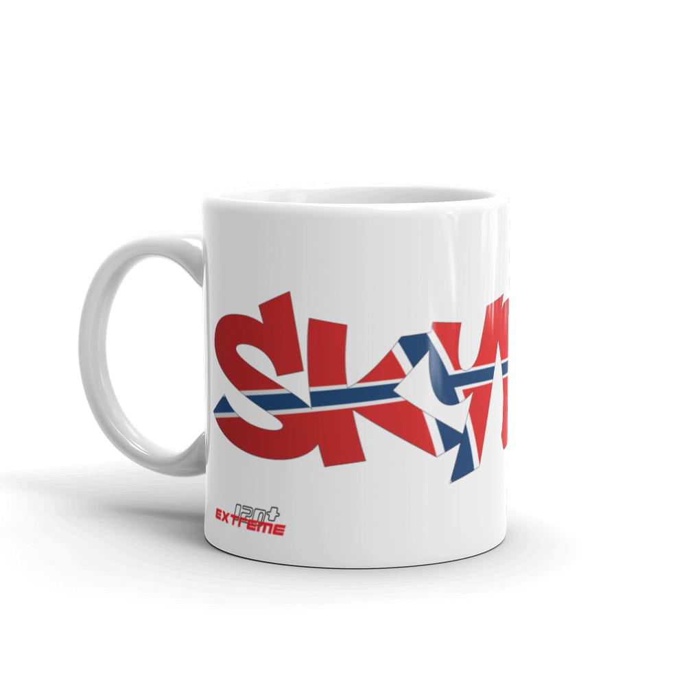 Skydiving T-shirts Skydiving Mug Team Norway, White Mugs, Skydiving Apparel, Skydiving Apparel, Skydiving Apparel, Skydiving Gear, Olympics, T-Shirts, Skydive Chicago, Skydive City, Skydive Perris, Drop Zone Apparel, USPA, united states parachute association, Freefly, BASE, World Record,