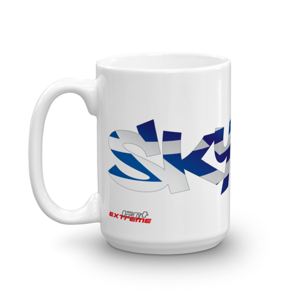 Skydiving T-shirts Skydiving Mug Team Greece, White Mugs, SkydivingApparel™, Skydiving Apparel, Skydiving Apparel, Skydiving Gear, Olympics, T-Shirts, Skydive Chicago, Skydive City, Skydive Perris, Drop Zone Apparel, USPA, united states parachute association, Freefly, BASE, World Record,