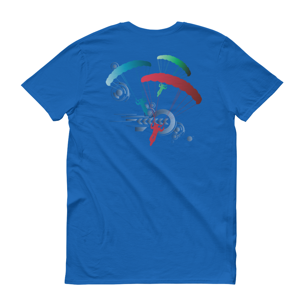 Skydiving T-shirts Skydive Competition - Full Edition - Men`s Colored T-Shirts, Men's Colored Tees, eXtreme 120+™ Skydiving Apparel, eXtreme 120+™ Skydiving Apparel, Skydiving Apparel, Skydiving Gear, Olympics, T-Shirts, Skydive Chicago, Skydive City, Skydive Perris, Drop Zone Apparel, USPA, united states parachute association, Freefly, BASE, World Record,