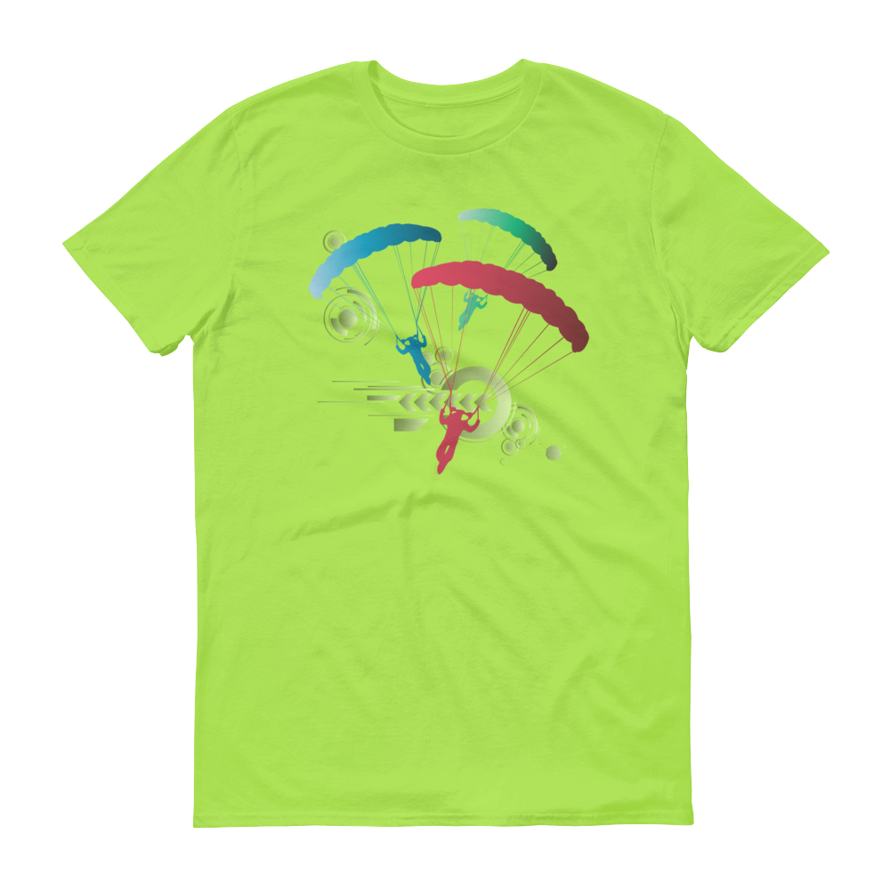 Skydiving T-shirts Skydive Competition - Men`s Colored T-Shirts, Men's Colored Tees, Skydiving Apparel, Skydiving Apparel, Skydiving Apparel, Skydiving Gear, Olympics, T-Shirts, Skydive Chicago, Skydive City, Skydive Perris, Drop Zone Apparel, USPA, united states parachute association, Freefly, BASE, World Record,