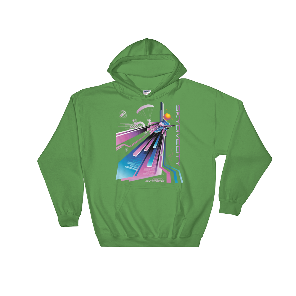 Skydiving T-shirts Skydiving Hoodie - Skydive City - Flamingo - Unisex Hooded Sweatshirt, Hoodies, Skydiving Apparel, Skydiving Apparel, Skydiving Apparel, Skydiving Gear, Olympics, T-Shirts, Skydive Chicago, Skydive City, Skydive Perris, Drop Zone Apparel, USPA, united states parachute association, Freefly, BASE, World Record,