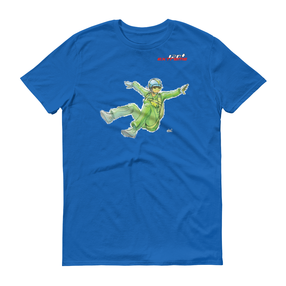 Skydiving T-shirts I Love Skydive - Sit-Fly - Short Sleeve Men's T-shirt, Shirts, eXtreme 120+™ Skydiving Apparel, eXtreme 120+™ Skydiving Apparel, Skydiving Apparel, Skydiving Gear, Olympics, T-Shirts, Skydive Chicago, Skydive City, Skydive Perris, Drop Zone Apparel, USPA, united states parachute association, Freefly, BASE, World Record,