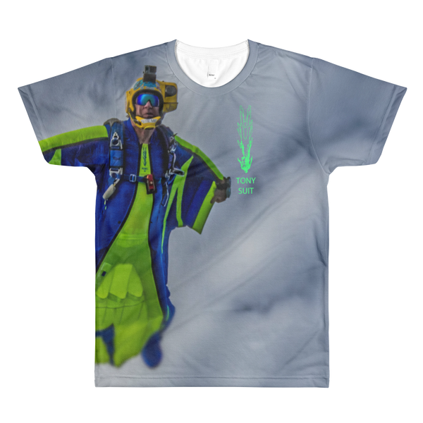 Skydiving T-shirts - Tony Suits - Bite Me - Men's Tee -, Men's All-Over, Skydiving Apparel, Skydiving Apparel, Skydiving Apparel, Skydiving Gear, Olympics, T-Shirts, Skydive Chicago, Skydive City, Skydive Perris, Drop Zone Apparel, USPA, united states parachute association, Freefly, BASE, World Record,