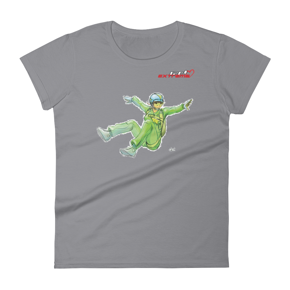 Skydiving T-shirts I Love Skydive - Sit-Fly - Short Sleeve Women's T-shirt, Shirts, eXtreme 120+™ Skydiving Apparel, Skydiving Apparel, Skydiving Apparel, Skydiving Gear, Olympics, T-Shirts, Skydive Chicago, Skydive City, Skydive Perris, Drop Zone Apparel, USPA, united states parachute association, Freefly, BASE, World Record,