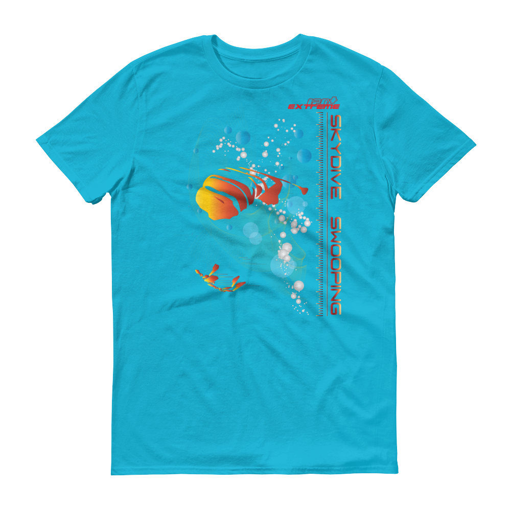 Skydiving T-shirts Skydive SWOOP - Men`s Colored T-Shirts, Men's Colored Tees, eXtreme 120+™ Skydiving Apparel, eXtreme 120+™ Skydiving Apparel, Skydiving Apparel, Skydiving Gear, Olympics, T-Shirts, Skydive Chicago, Skydive City, Skydive Perris, Drop Zone Apparel, USPA, united states parachute association, Freefly, BASE, World Record,