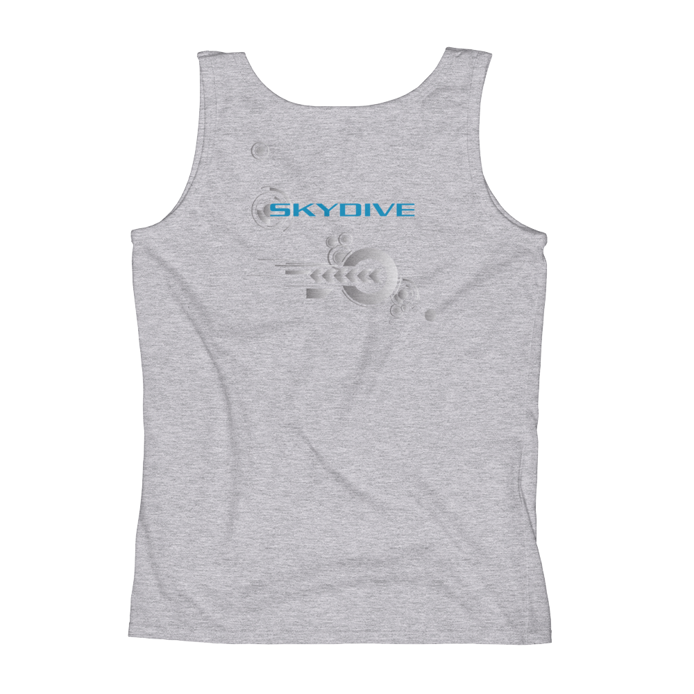 Skydiving T-shirts Ladies' Tank - Skydive Competition, Tanks, Skydiving Apparel, Skydiving Apparel, Skydiving Apparel, Skydiving Gear, Olympics, T-Shirts, Skydive Chicago, Skydive City, Skydive Perris, Drop Zone Apparel, USPA, united states parachute association, Freefly, BASE, World Record,