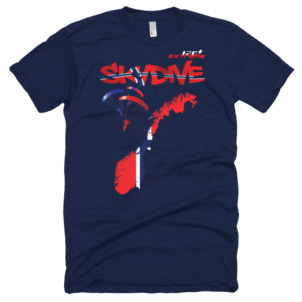 Skydiving T-shirts - Skydive All World - NORWAY - Unisex Tee -, Shirts, Skydiving Apparel, Skydiving Apparel, Skydiving Apparel, Skydiving Gear, Olympics, T-Shirts, Skydive Chicago, Skydive City, Skydive Perris, Drop Zone Apparel, USPA, united states parachute association, Freefly, BASE, World Record,