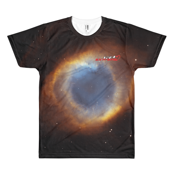 Skydiving T-shirts Galaxy - Glory of Helix Nebula - Short sleeve men's t-shirt, T-shirt, Skydiving Apparel, Skydiving Apparel, Skydiving Apparel, Skydiving Gear, Olympics, T-Shirts, Skydive Chicago, Skydive City, Skydive Perris, Drop Zone Apparel, USPA, united states parachute association, Freefly, BASE, World Record,