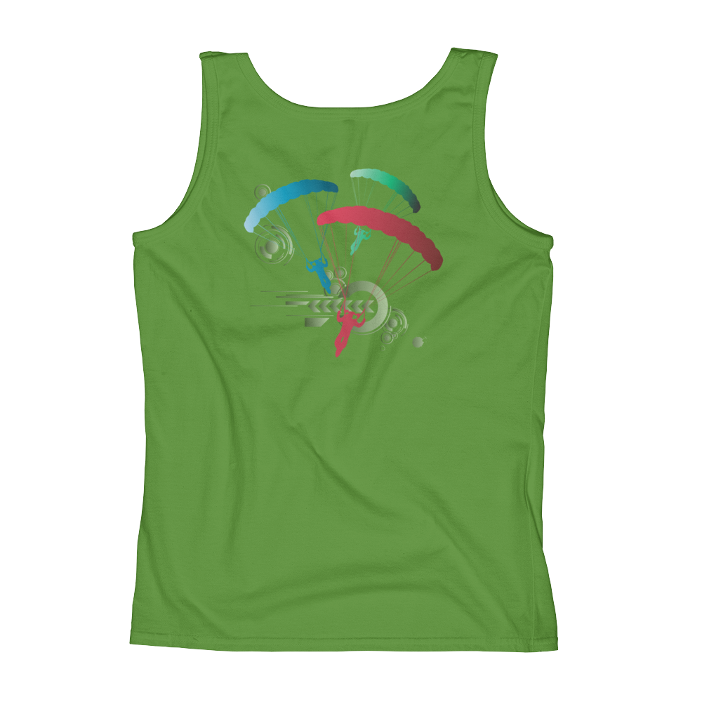 Skydiving T-shirts Ladies' Tank - Skydive Competition - Tank Edition, Tanks, eXtreme 120+™ Skydiving Apparel, eXtreme 120+™ Skydiving Apparel, Skydiving Apparel, Skydiving Gear, Olympics, T-Shirts, Skydive Chicago, Skydive City, Skydive Perris, Drop Zone Apparel, USPA, united states parachute association, Freefly, BASE, World Record,