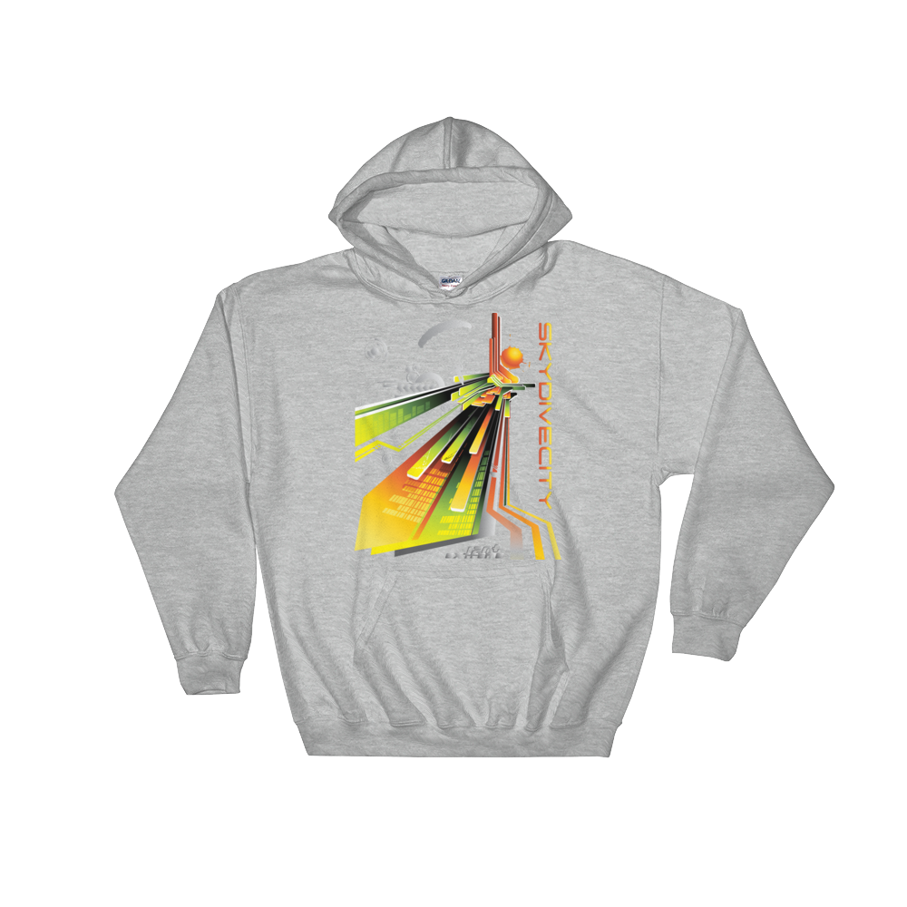Skydiving T-shirts Skydiving Hoodie - Skydive City - Sunrise - Unisex Hooded Sweatshirt, Hoodies, eXtreme 120+䋢 Skydiving Apparel, eXtreme 120+䋢 Skydiving Apparel, Skydiving Apparel, Skydiving Gear, Olympics, T-Shirts, Skydive Chicago, Skydive City, Skydive Perris, Drop Zone Apparel, USPA, united states parachute association, Freefly, BASE, World Record,
