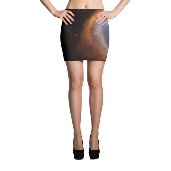 Skydiving T-shirts Galaxy - Glory of Helix Nebula - Mini Skirt, Skirts, Skydiving Apparel, Skydiving Apparel, Skydiving Apparel, Skydiving Gear, Olympics, T-Shirts, Skydive Chicago, Skydive City, Skydive Perris, Drop Zone Apparel, USPA, united states parachute association, Freefly, BASE, World Record,