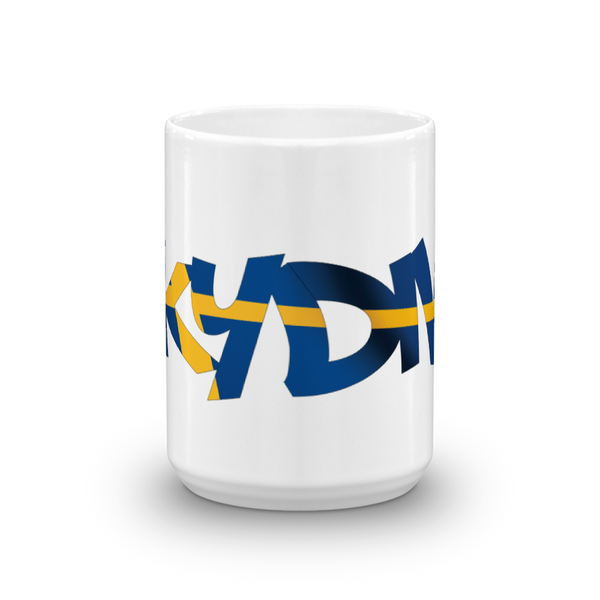 Skydiving T-shirts Skydiving Mug Team Sweden, White Mugs, SkydivingApparel™, Skydiving Apparel, Skydiving Apparel, Skydiving Gear, Olympics, T-Shirts, Skydive Chicago, Skydive City, Skydive Perris, Drop Zone Apparel, USPA, united states parachute association, Freefly, BASE, World Record,
