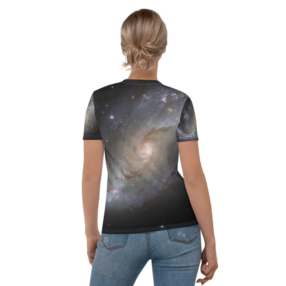 Skydiving T-shirts SPACE - Stellar nursery in the arms - Women's sublimation t-shirt, T-shirt, Skydiving Apparel, Skydiving Apparel, Skydiving Apparel, Skydiving Gear, Olympics, T-Shirts, Skydive Chicago, Skydive City, Skydive Perris, Drop Zone Apparel, USPA, united states parachute association, Freefly, BASE, World Record,