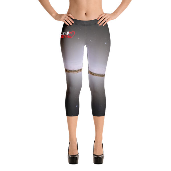 Skydiving T-shirts Galaxy - The Majestic Sombrero - Capri Leggings, Leggings, Skydiving Apparel, Skydiving Apparel, Skydiving Apparel, Skydiving Gear, Olympics, T-Shirts, Skydive Chicago, Skydive City, Skydive Perris, Drop Zone Apparel, USPA, united states parachute association, Freefly, BASE, World Record,