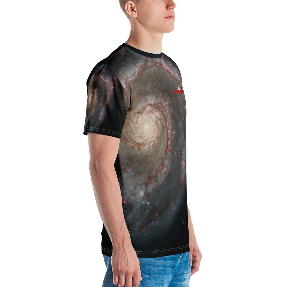 Skydiving T-shirts SPACE - Out of this whirl - Men's T-shirt, T-shirt, Skydiving Apparel, Skydiving Apparel, Skydiving Apparel, Skydiving Gear, Olympics, T-Shirts, Skydive Chicago, Skydive City, Skydive Perris, Drop Zone Apparel, USPA, united states parachute association, Freefly, BASE, World Record,