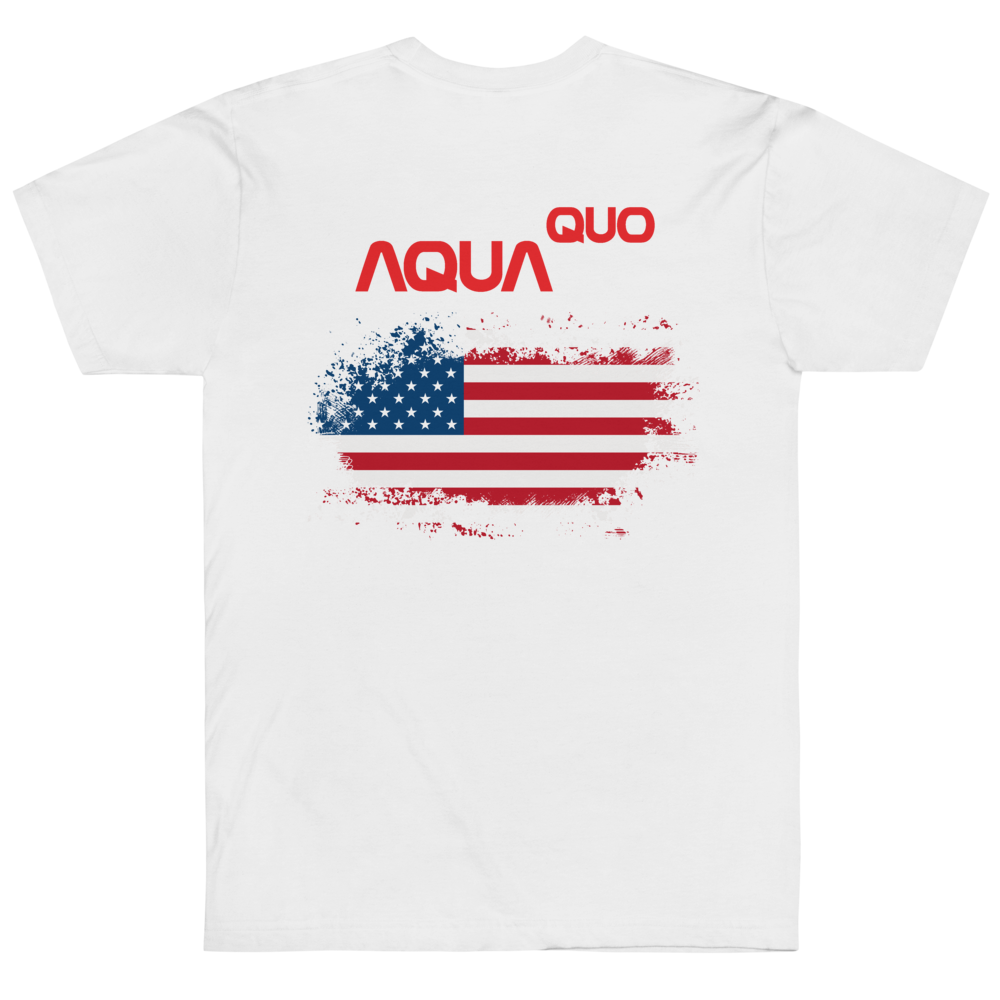 "Skydiving T-shirts AquaQuo - ""My Status Quo is Aqua Quo"" - Unisex T-Shirt, , Skydiving Apparel ™, Skydiving Apparel, Skydiving Apparel, Skydiving Gear, Olympics, T-Shirts, Skydive Chicago, Skydive City, Skydive Perris, Drop Zone Apparel, USPA, united states parachute association, Freefly, BASE, World Record,"