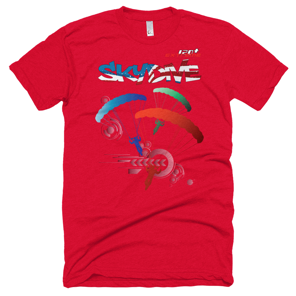Skydiving T-shirts - Skydive Around - AMERICA - Unisex Tee -, Shirts, Skydiving Apparel, Skydiving Apparel, Skydiving Apparel, Skydiving Gear, Olympics, T-Shirts, Skydive Chicago, Skydive City, Skydive Perris, Drop Zone Apparel, USPA, united states parachute association, Freefly, BASE, World Record,