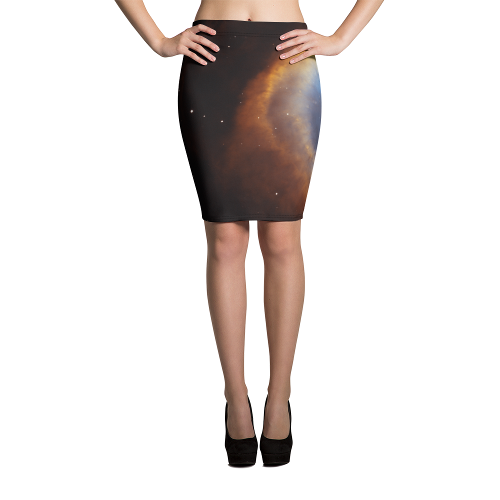 Skydiving T-shirts Galaxy - Glory of Helix Nebula - Pencil Skirt, Skirts, Skydiving Apparel, Skydiving Apparel, Skydiving Apparel, Skydiving Gear, Olympics, T-Shirts, Skydive Chicago, Skydive City, Skydive Perris, Drop Zone Apparel, USPA, united states parachute association, Freefly, BASE, World Record,