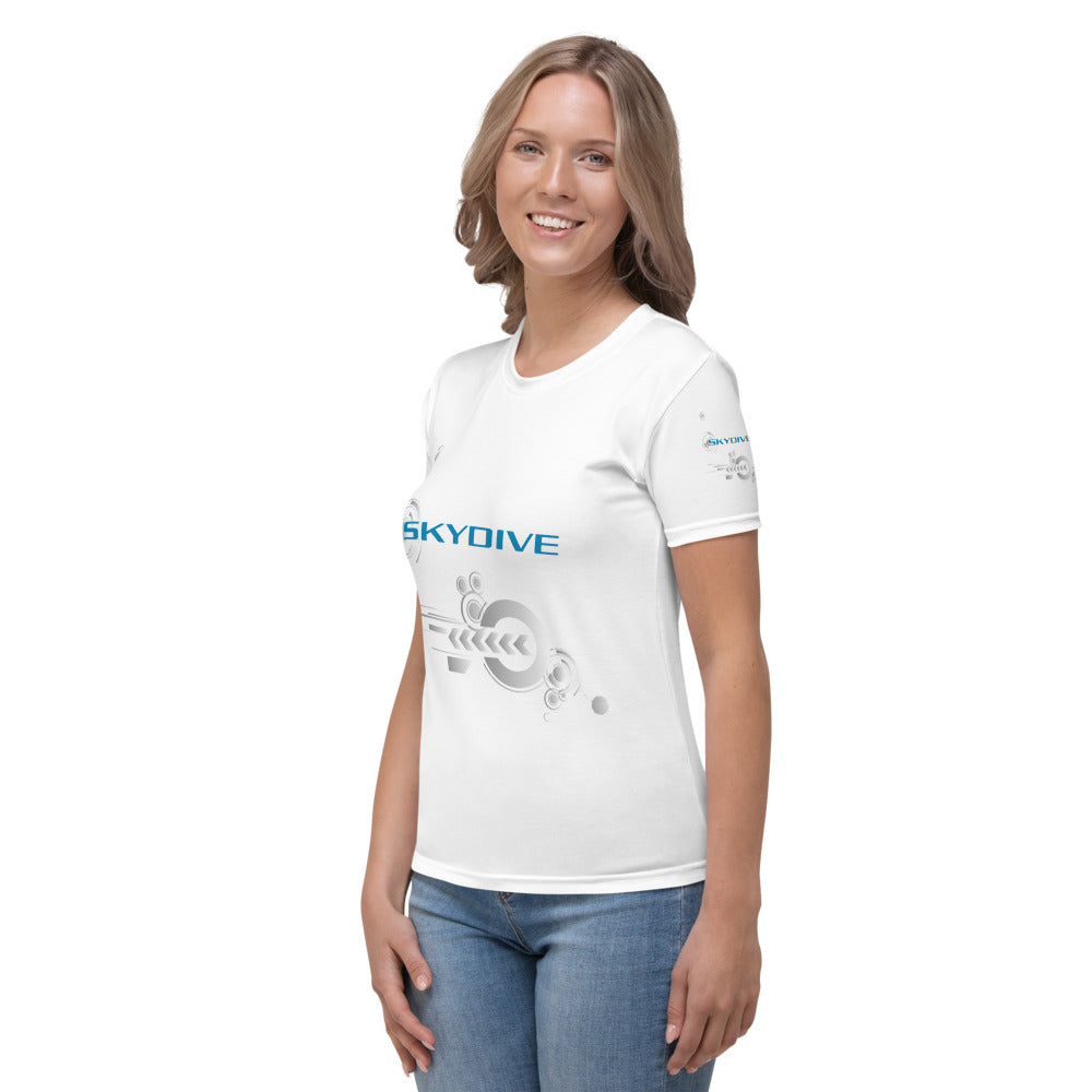 Skydiving T-shirts - Skydive Competition - Women`s Tee -, Shirts, Skydiving Apparel, Skydiving Apparel, Skydiving Apparel, Skydiving Gear, Olympics, T-Shirts, Skydive Chicago, Skydive City, Skydive Perris, Drop Zone Apparel, USPA, united states parachute association, Freefly, BASE, World Record,