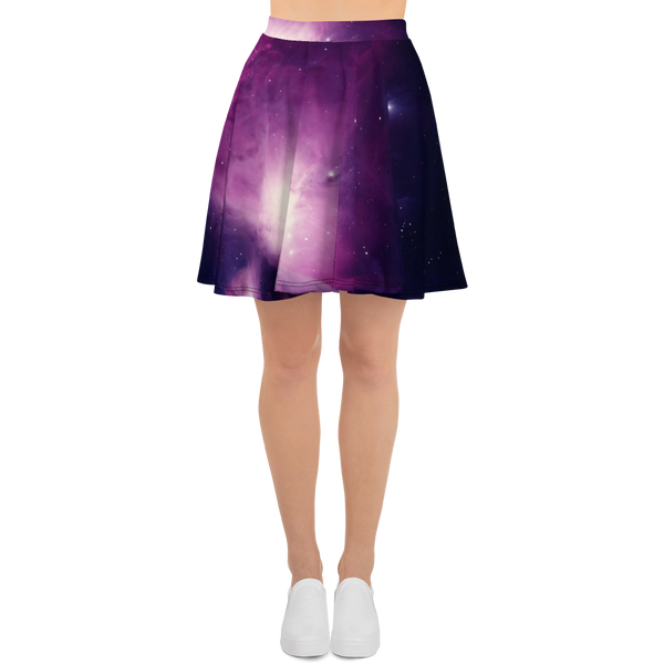 Skydiving T-shirts Galaxy - Orion Purple Nebula - Skater Skirt, Skirts, eXtreme 120+™ Skydiving Apparel, eXtreme 120+™ Skydiving Apparel, Skydiving Apparel, Skydiving Gear, Olympics, T-Shirts, Skydive Chicago, Skydive City, Skydive Perris, Drop Zone Apparel, USPA, united states parachute association, Freefly, BASE, World Record,