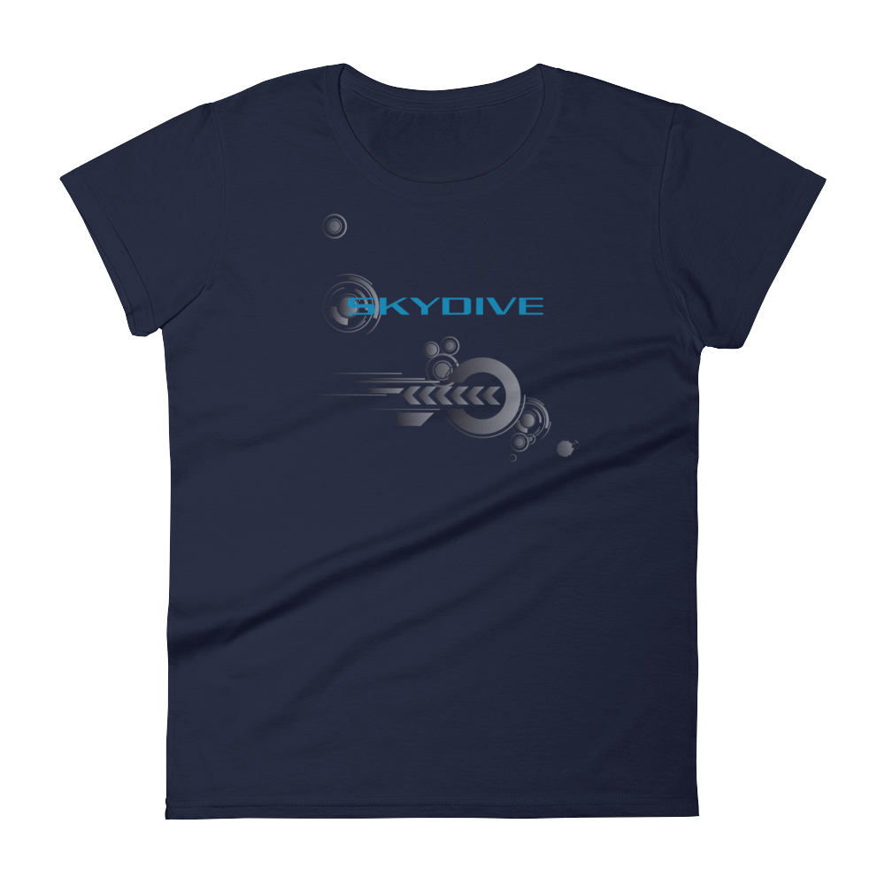 Skydiving T-shirts Skydive Competition - Full Edition - Women`s Colored T-Shirts, Women's Colored Tees, Skydiving Apparel, Skydiving Apparel, Skydiving Apparel, Skydiving Gear, Olympics, T-Shirts, Skydive Chicago, Skydive City, Skydive Perris, Drop Zone Apparel, USPA, united states parachute association, Freefly, BASE, World Record,