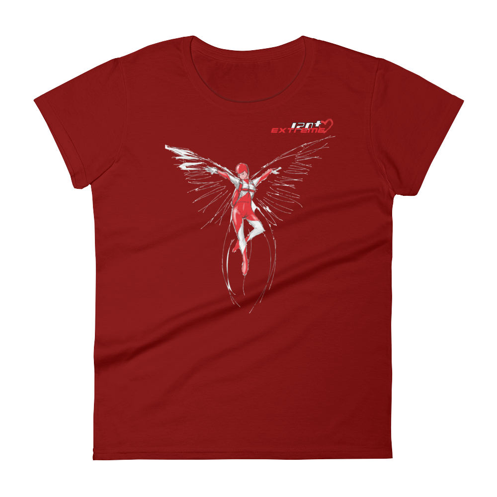 Skydiving T-shirts I Love Skydive - Freefly - Short Sleeve Women's T-shirt, Shirts, eXtreme 120+™ Skydiving Apparel, Skydiving Apparel, Skydiving Apparel, Skydiving Gear, Olympics, T-Shirts, Skydive Chicago, Skydive City, Skydive Perris, Drop Zone Apparel, USPA, united states parachute association, Freefly, BASE, World Record,