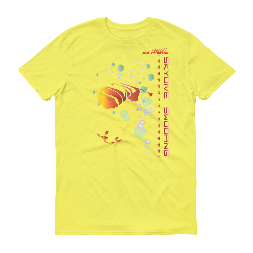 Skydiving T-shirts Skydive SWOOP - Men`s Colored T-Shirts, Men's Colored Tees, Skydiving Apparel, Skydiving Apparel, Skydiving Apparel, Skydiving Gear, Olympics, T-Shirts, Skydive Chicago, Skydive City, Skydive Perris, Drop Zone Apparel, USPA, united states parachute association, Freefly, BASE, World Record,