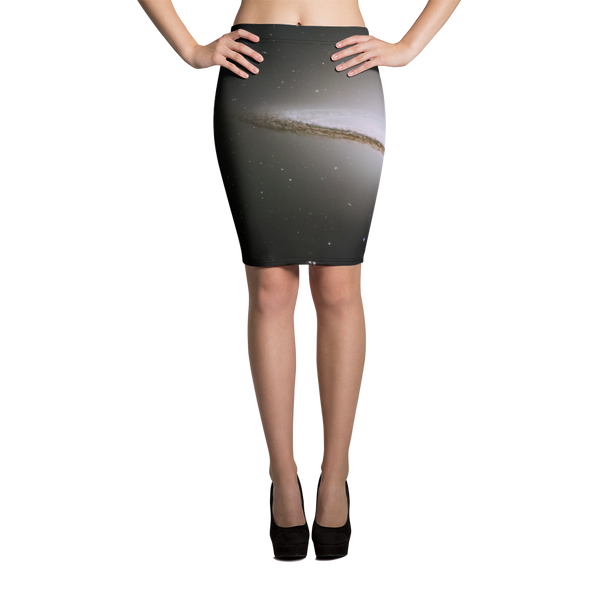 Skydiving T-shirts Galaxy - The Majestic Sombrero - Pencil Skirt, Skirts, eXtreme 120+™ Skydiving Apparel, eXtreme 120+™ Skydiving Apparel, Skydiving Apparel, Skydiving Gear, Olympics, T-Shirts, Skydive Chicago, Skydive City, Skydive Perris, Drop Zone Apparel, USPA, united states parachute association, Freefly, BASE, World Record,