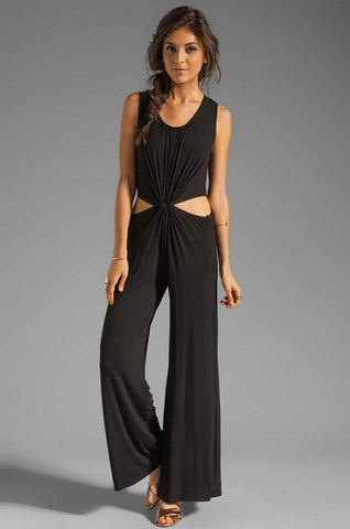 SAVANNAH JUMPSUIT (Black)-JD8015
