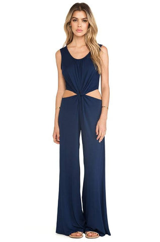 SAVANNAH JUMPSUIT (Navy)-JD8015