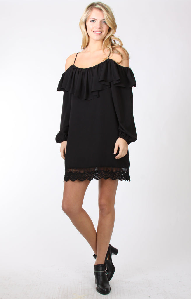 CHANTILY DRESS (BLACK) -VD9711