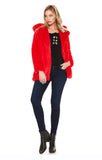CARA COAT (Red)-CVJ1952