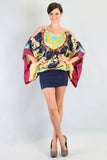 CAROUSEL BLOUSON DRESS (NAVY)- D7412