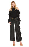 DANDY RUFFLE PANTS (Black)-VP2017