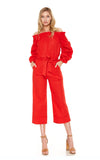 HAZEL JUMPSUIT (Red)-VD2074
