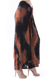 ERIN PANTS (NEW BROWN TIE DYE)-JP8769T