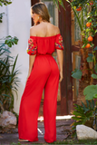 EMBROIDERED JUMPSUIT-CVD1495