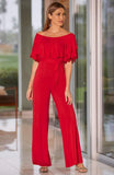 HEIDE JUMPSUIT (RED)-VD1759
