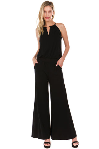 SKYLAR JUMPSUIT (Black)- VD2204