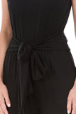 AYLA JUMPSUIT (BLACK)- VD2207