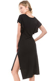 ALMA DRESS (BLACK)- VD2211