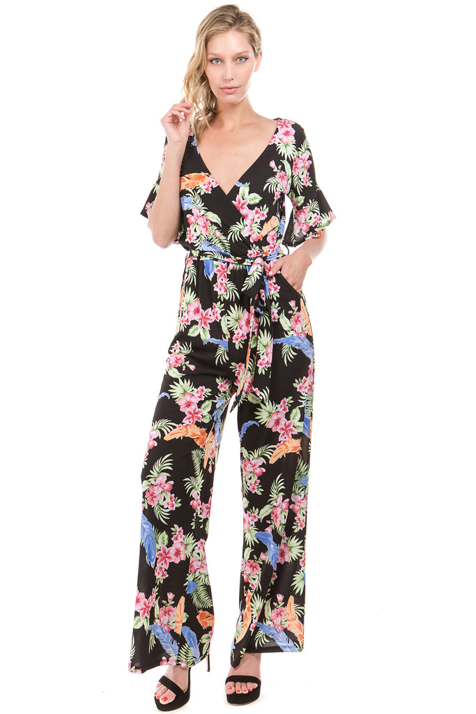 NORA JUMPSUIT (Black)-VD2223