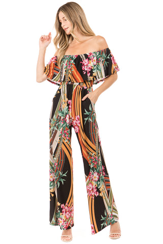CAIA JUMPSUIT (Multi)- VD2282