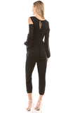 PHOEBE JUMPSUITS (BLACK)-VD2345