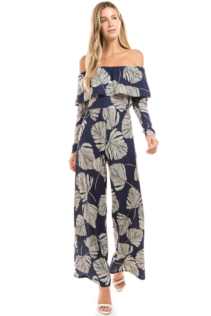 LUCIA JUMPSUITS (Navy) - VD2360
