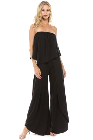 COLETTE JUMPSUIT (BLACK)-VD2413