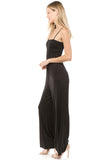 AMAYA TUBE JUMPSUIT (Black)-VD2428
